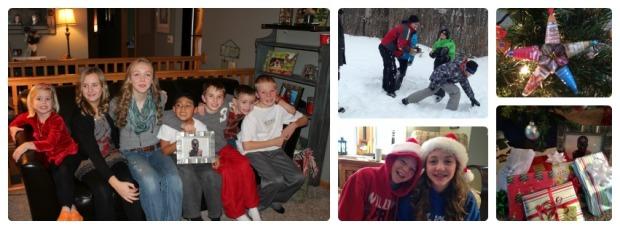 Christmas memories.